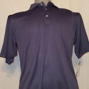 PGA Tour men's navy blue large golf shirt